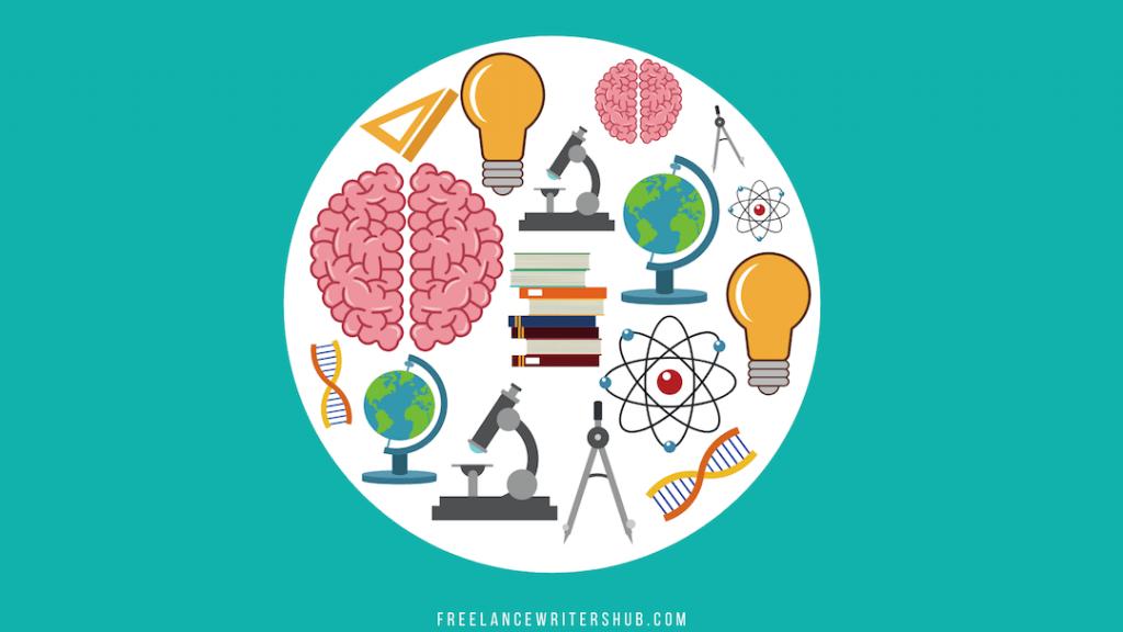 freelance writing niche science