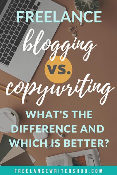 freelance blogging copywriting