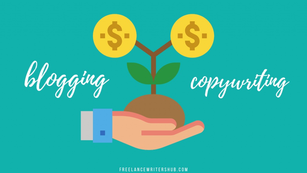 freelance blogging vs copywriting