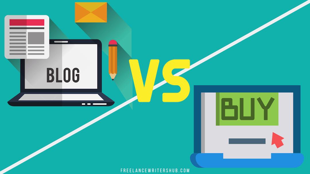 freelance writing vs copywriting comparison