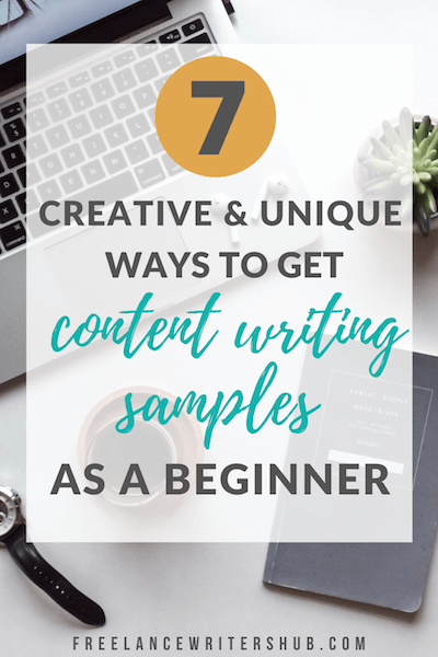content writing samples (
