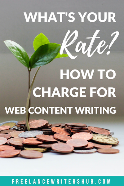 what to charge for web content