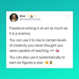 Freelance writing challenges you both creatively and professionally.  This is exactly WHY I love it.  There are no limits to what you can achieve. ✨  #writer #writing #amwriting #writerthoughts #writingthoughts #writersofinstagram #writerscommunity #writersofig #writerslife #writeaway #writinginspiration #mindset #writermindset #writingmindset #success #manifestation #lawofattraction #mindsetiseverything #mindsetmatters #mindovermatter #mindsetshift #freelancewriting #freelancewriter #freelancing #mindsetreset #inspiration #motivation #community #creative #creativity